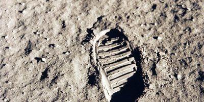 Mens op de maan; dat is onzin en een fabeltje